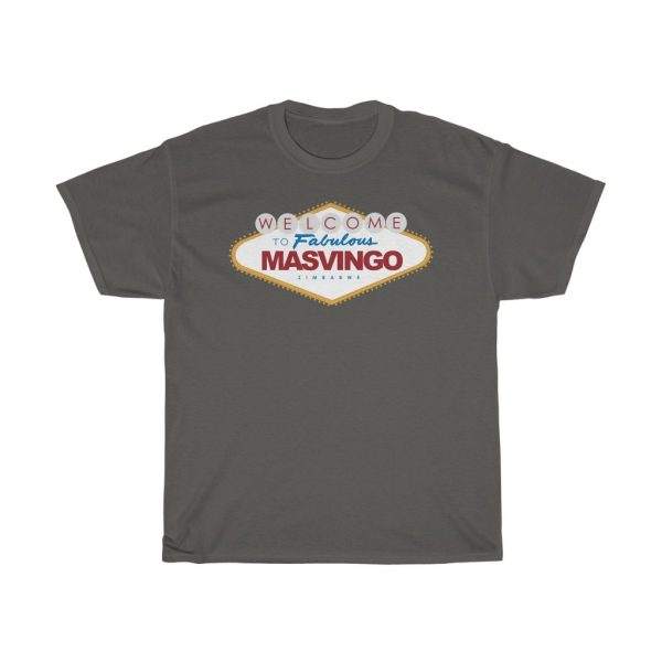Welcome to Masvingo Las Vegas Sign Parody T Shirt (S to 5XL)