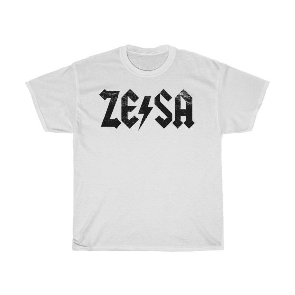 ZESA AC DC Rock Band Style Parody Tee (S to 5XL)