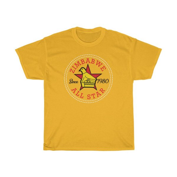 Zimbabwe All Star Converse Chuck Taylor Style T Shirt (S to 5XL)