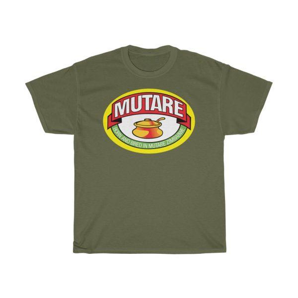 Mutare Zimbabwe Marmite Parody T Shirt (S to 5XL)